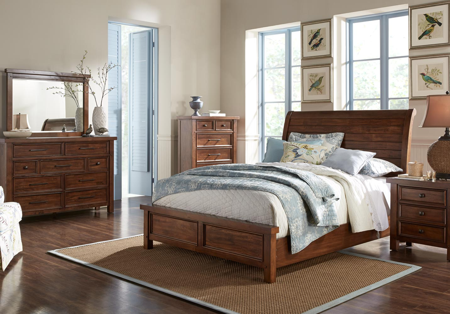Wood   Metal Bedroom. Bedroom Sets