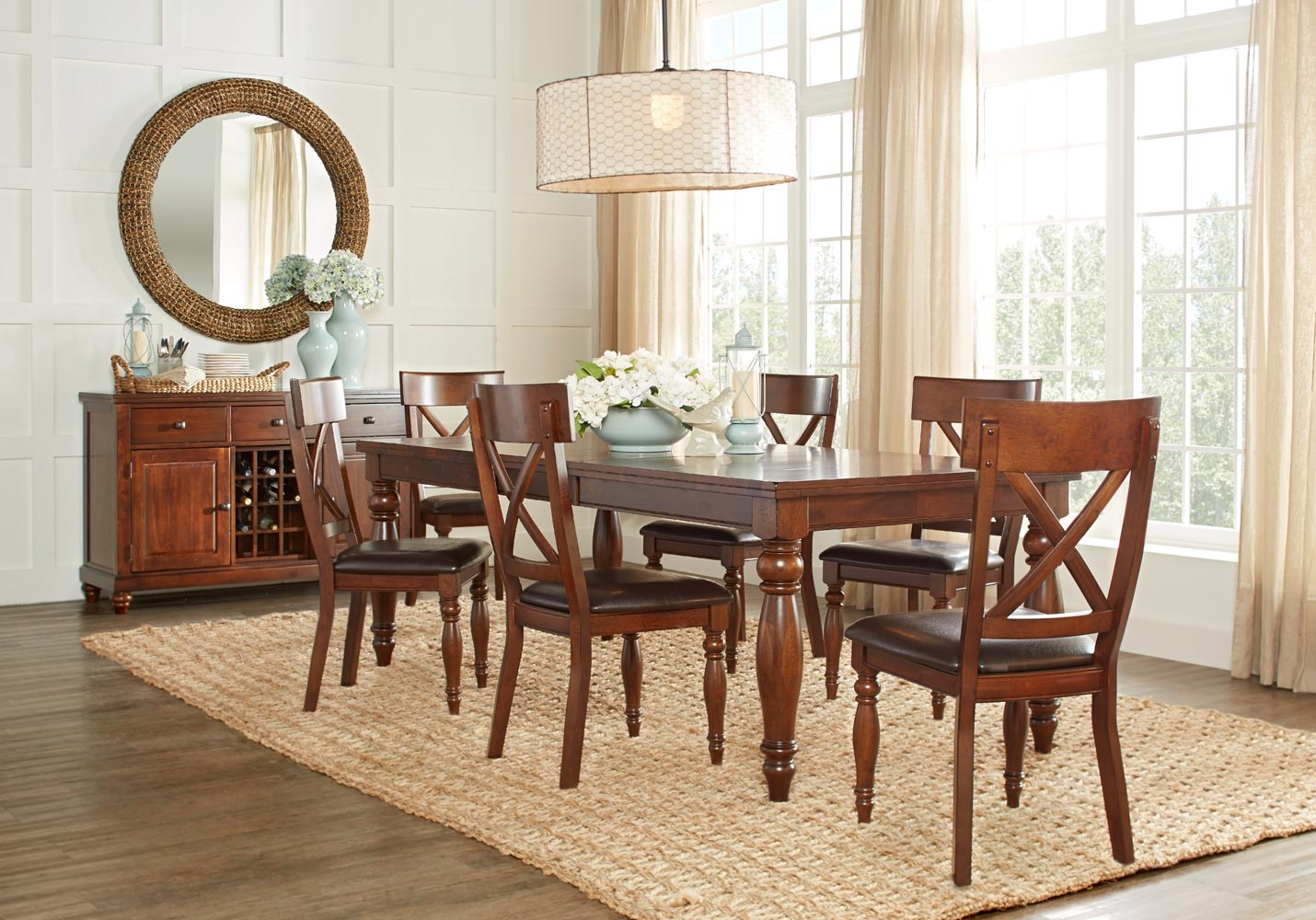 Traditional dining room set oak dining room set u2013 how for Traditional dining room images