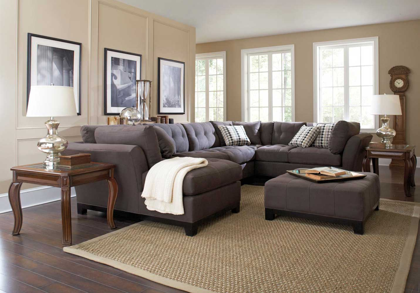Living room 49 reclining sofa in living room american for American furniture living room sets