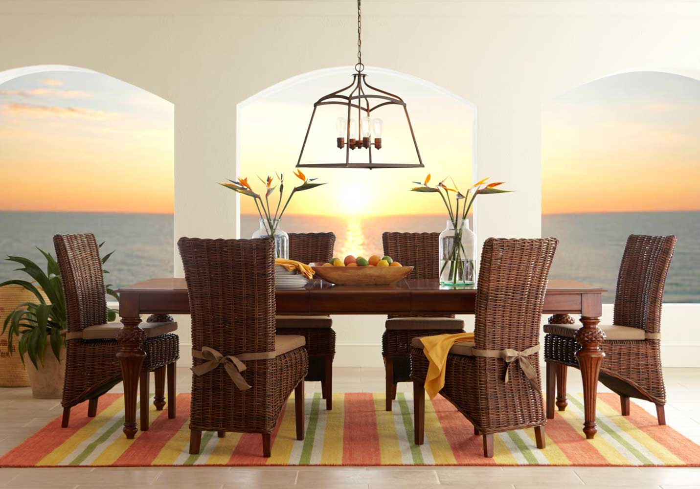 Badcock Dining Room Sets Bombay 5 Pc Dining Room Badcock Home Furniture More Of South